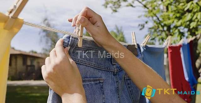 Hình ảnh minh họa: cách phơi quần áo