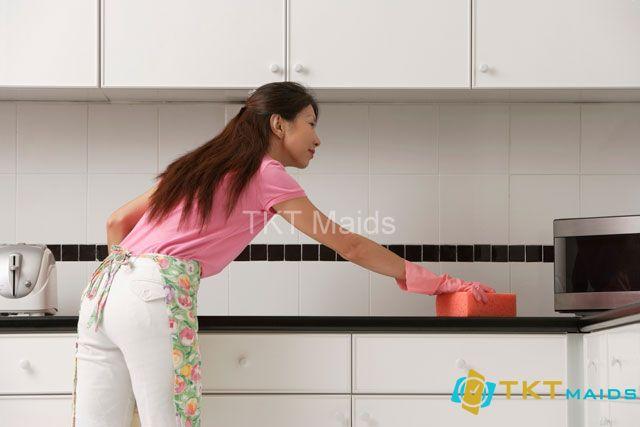 Hình ảnh minh họa: cách dọn dẹp nhà bếp