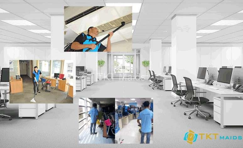 Hình ảnh: Dịch vụ vệ sinh văn phòng