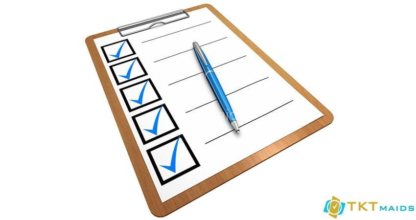 Checklis công việc tạp vụ tòa nhà -Checklist là gì?