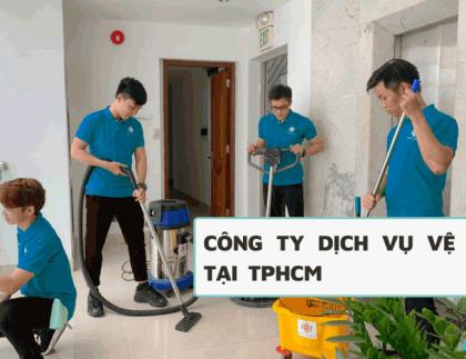 Công ty dịch vụ vệ sinh tại TPHCM
