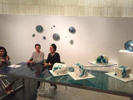 Opening night with Layla Al Sharif