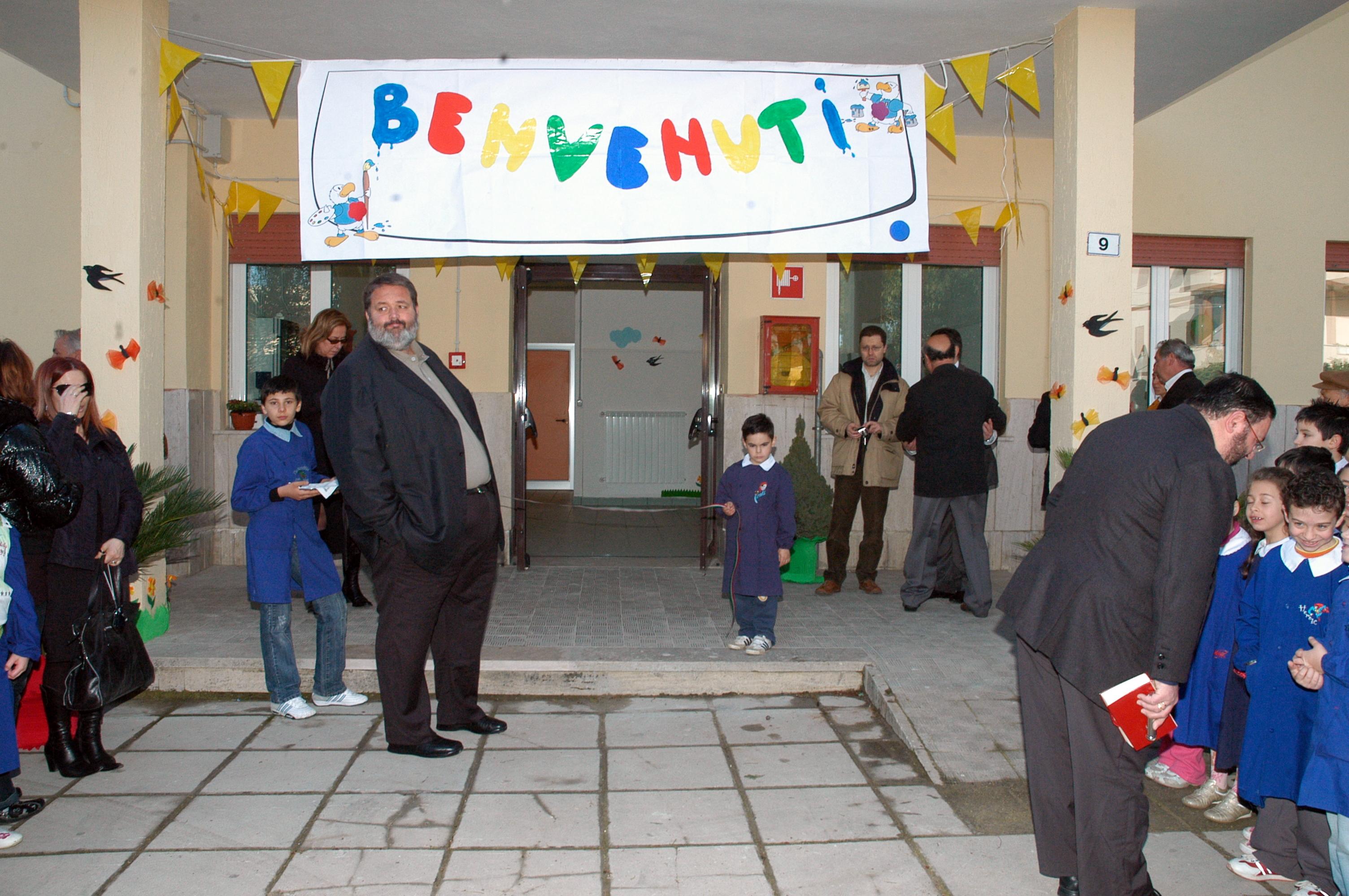 Inaugurazione scuola Borgo Flora