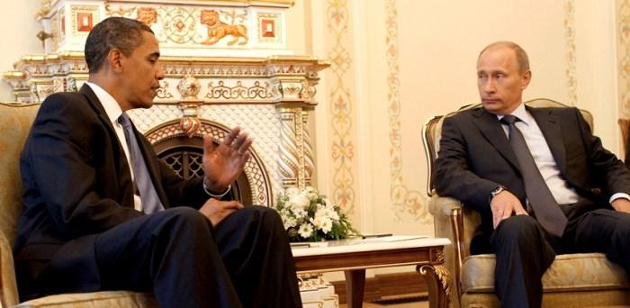 Barack Obama a colloquio con Vladimir Putin