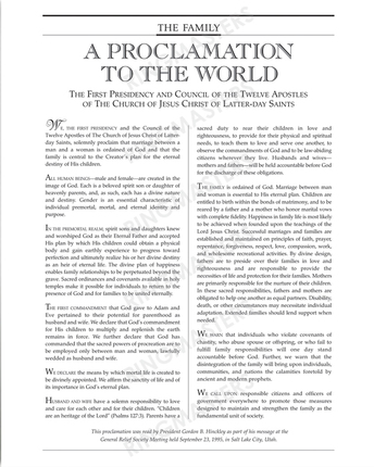 graphic about The Family a Proclamation to the World Printable named The Household: A Proclamation in direction of the Entire world Giuseppe Martinengo