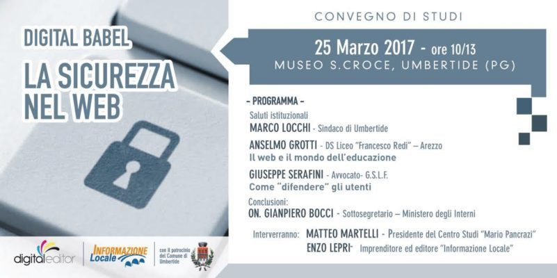 Umbertide, 25 Marzo 2017