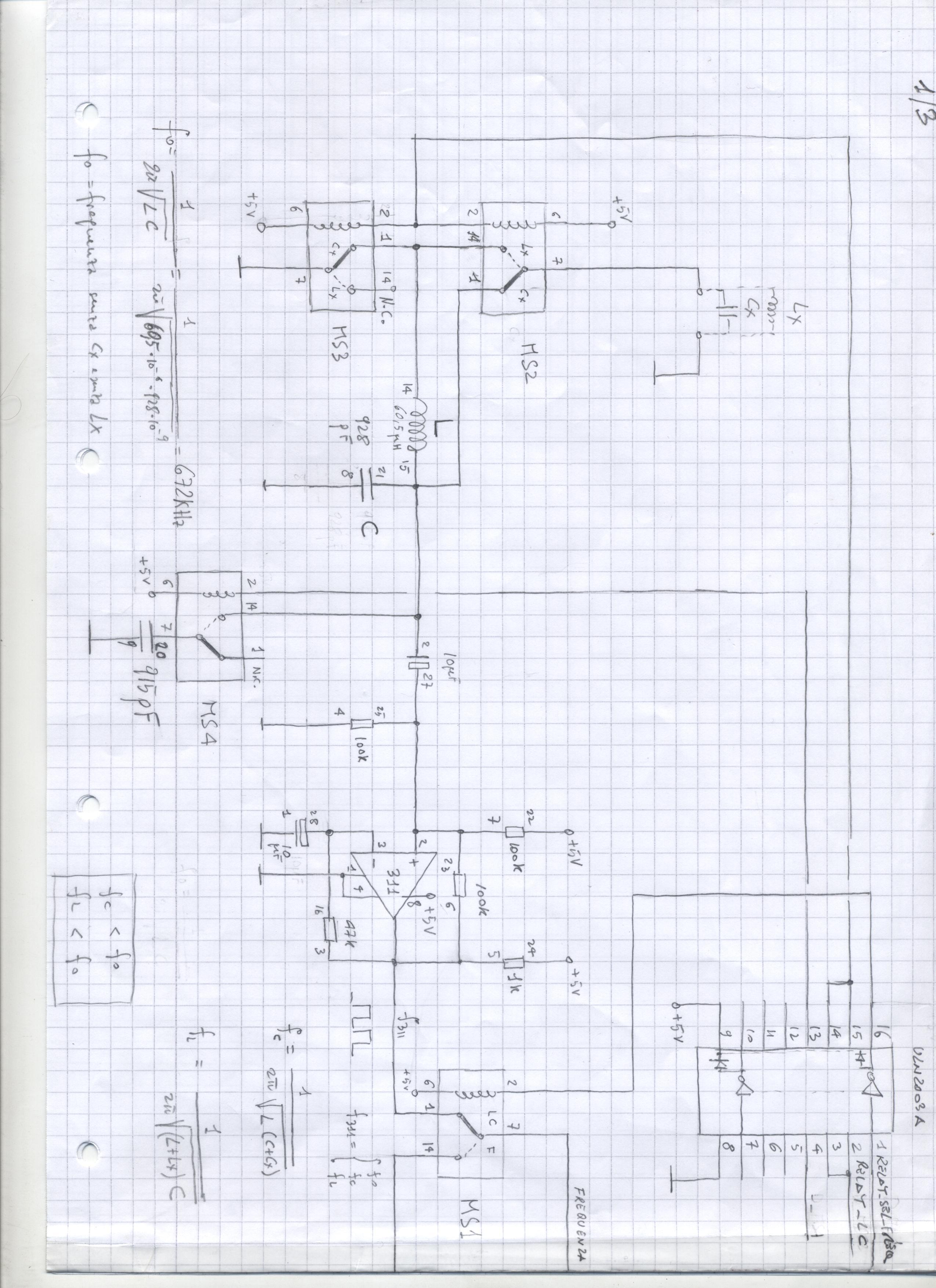 Lc Meter Schematic Giuseppe Talarico