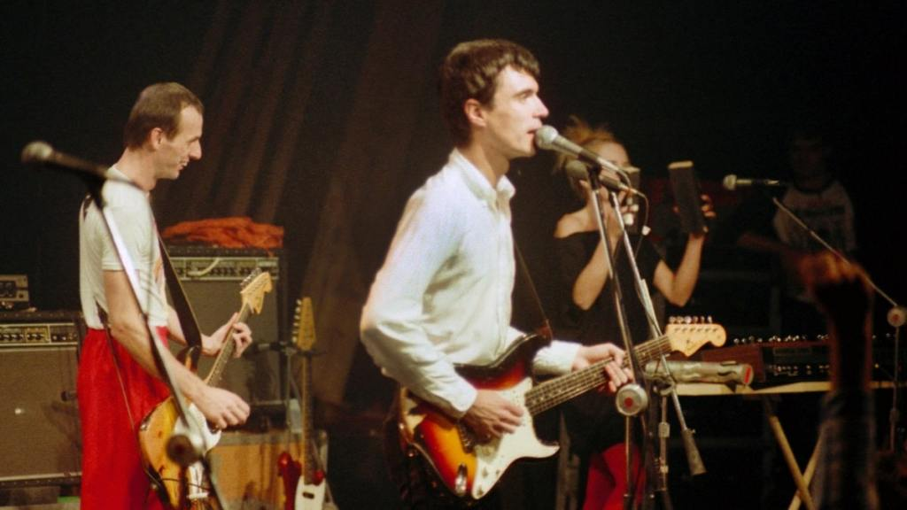 David Byrne dei Talking Heads, autore dei testi di Remain In Light