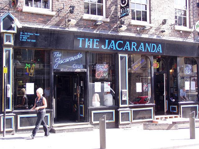 Il Jacaranda, uno dei luoghi dei Beatles