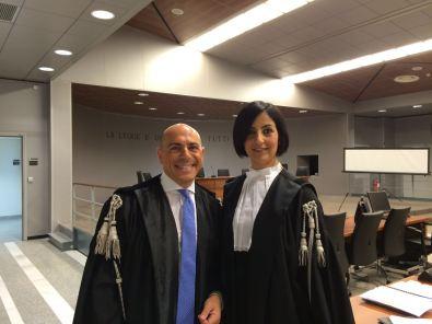 Avv. Salvatore Vitrano ed Avv. Michela Suriano