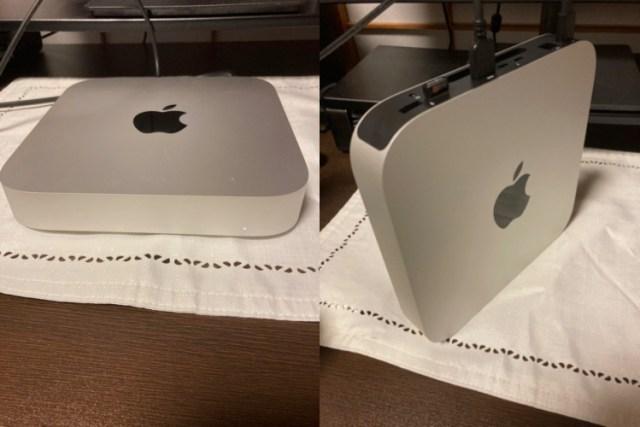 Mac miniは縦置きでも大丈夫!?故障したりしないの!?