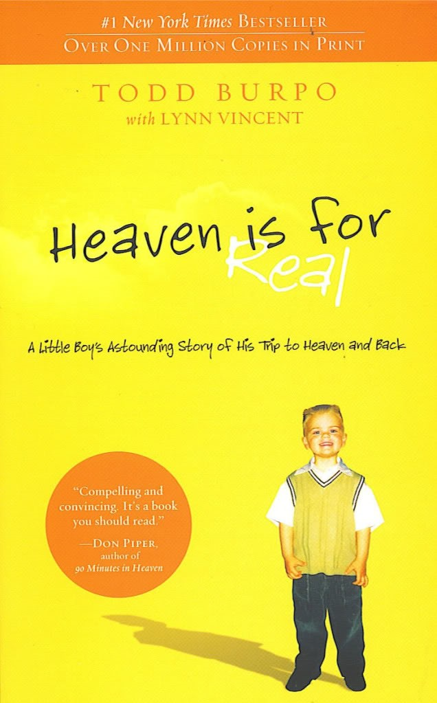 Heaven is for Real_Book