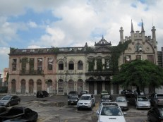 Decaying colonial Manaus