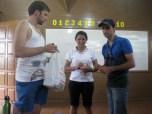 Robert helping a Brazilian nurse