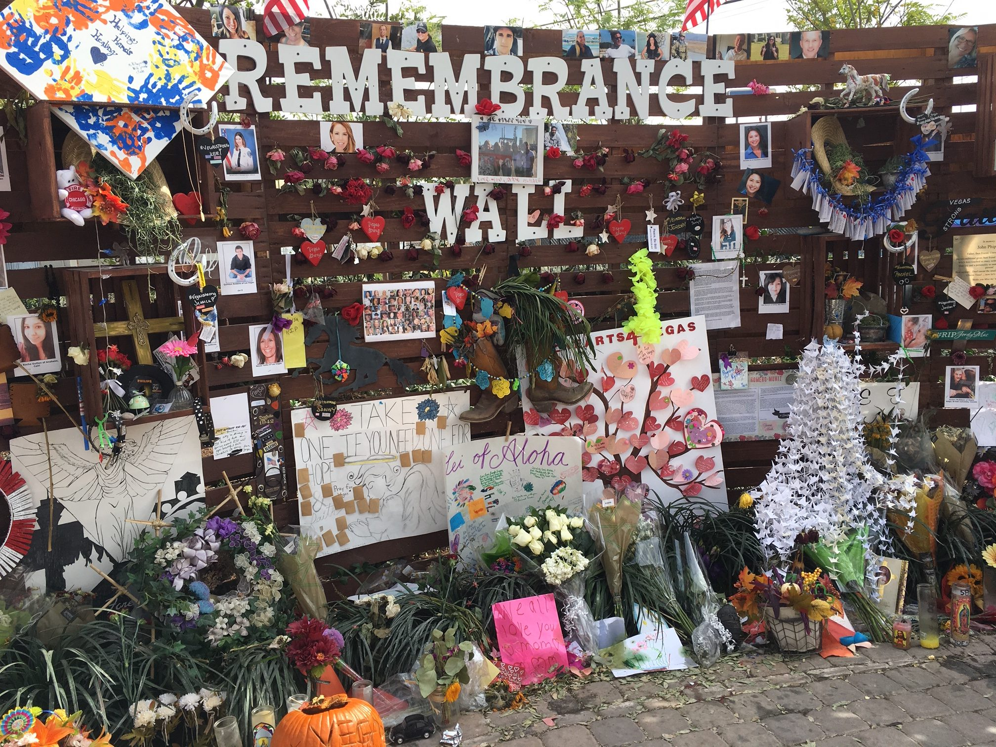 remembrance wall