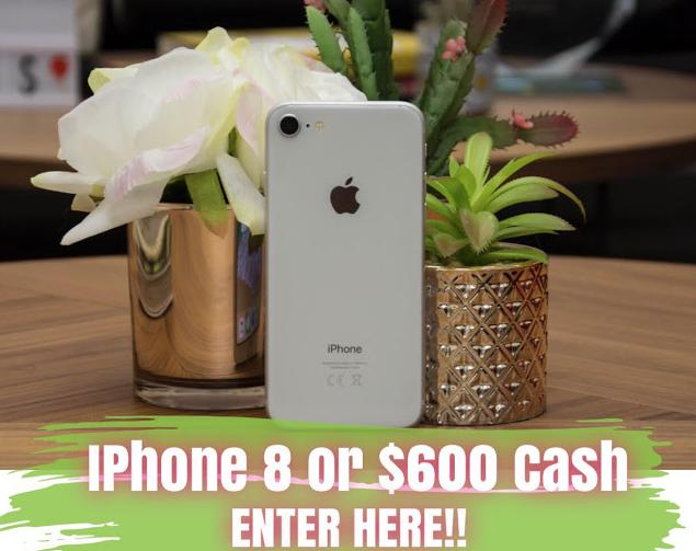 Its Our Fab Fash Life iPhone 8 Or $600 Cash Giveaway – Win Iphone 8 or $600 Cash
