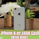 It's Our Fab Fash Life iPhone 8 Or $600 Cash Giveaway
