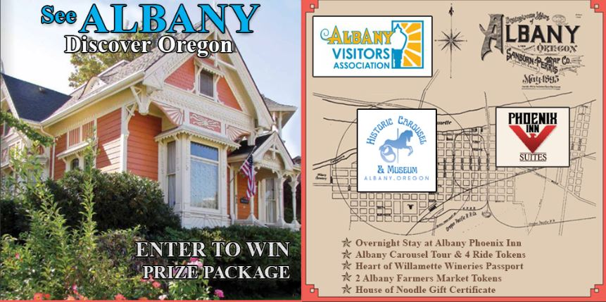 July 2019 Albany Visitors Giveaway - Enter To Win Tour