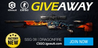 CS GO Free SSG 08 Dragonfire Giveaway