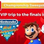 My Nintendo Championship 2017 Sweepstakes