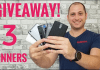 Win 1 of 3 Free Smartphone Giveaway