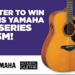 Win a Yamaha A-Series Guitar