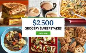 Bhg 2500 Grocery Sweepstakes Bhg Com Grocery Sweepstakes