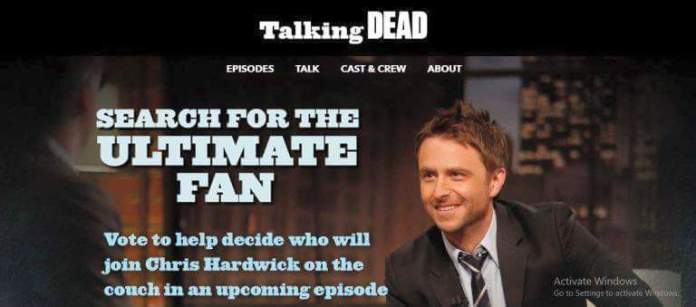 Ultimate Talking Dead Contest