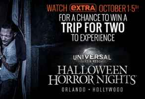 Extra tv universal studios contest sweepstakes