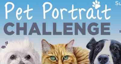 Dick Blick Pet Portrait Contest 2019 - Win $500 Prize Package