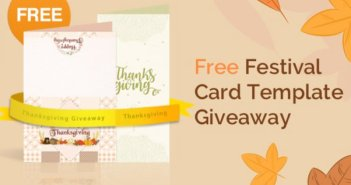 Festival & Birthday Cards Templates Giveaway