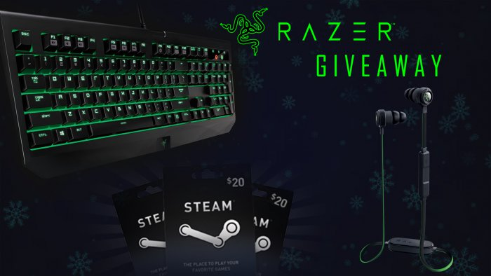 Razer giveaways