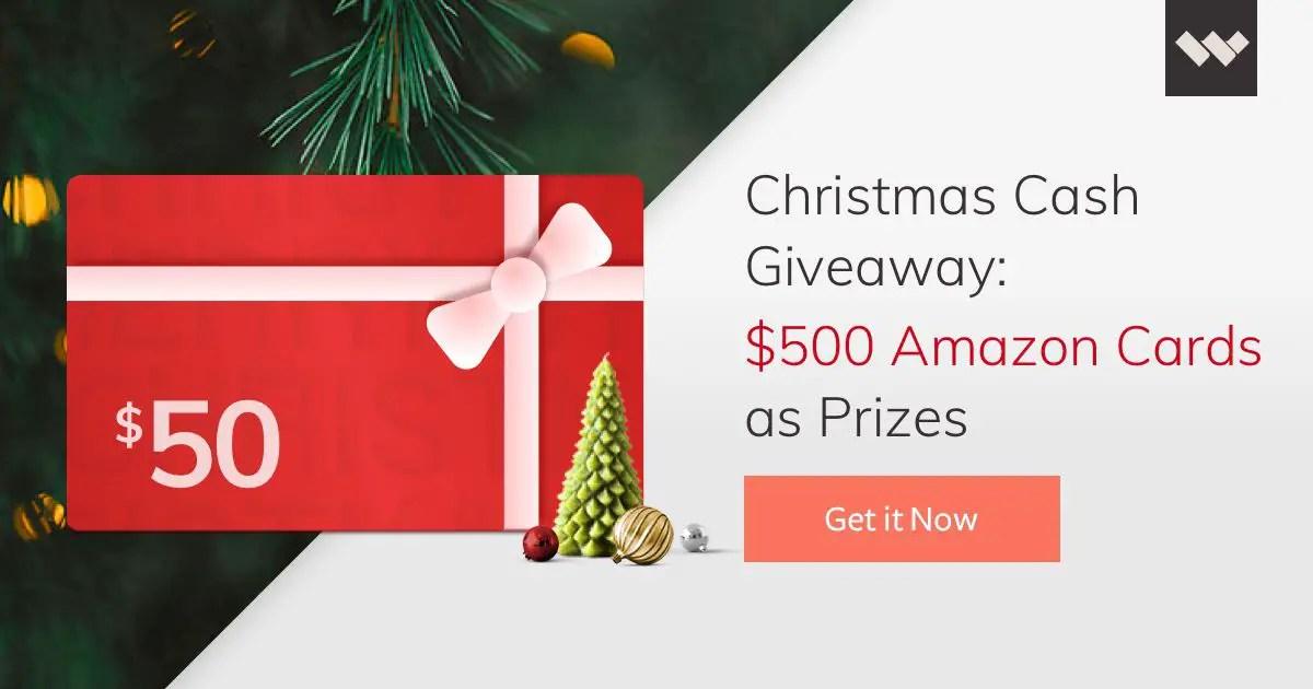 $500 Amazon Gift Cards Giveaway - GiveawayBase