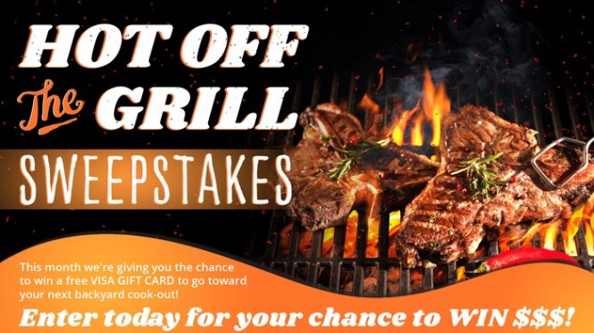 Roanoke Hot Off The Grill Sweepstakes