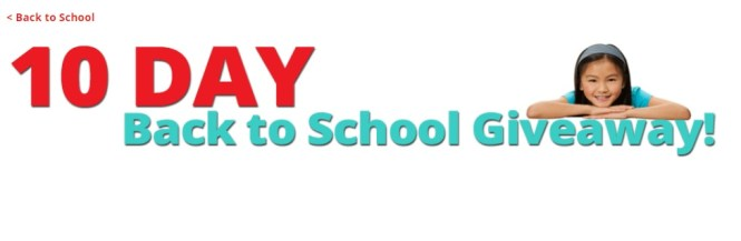 S And S Worldwide 10 Days Back To School Giveaway