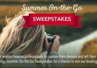 G Tech Summer On the Go Sweepstakes