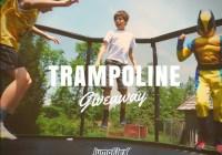 Jumpflex Trampoline July Giveaway - Win 3 JumpFlex Trampolines