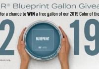 BEHR Blueprint Gallon Giveaway