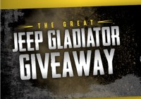 Dave Smith Great Jeep Gladiator Giveaway