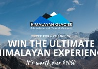 Ultimate Himalayan Experience Giveaway