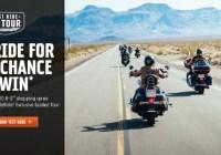 Harley Davidson Test Ride To Tour Sweepstakes