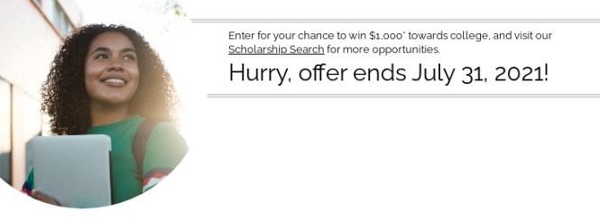 Commerce Bank Scholarship Sweepstakes