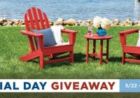 Polywood Memorial Day Giveaway