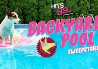 Hits 99.9 Canine Craze Backyard Pool Sweepstakes