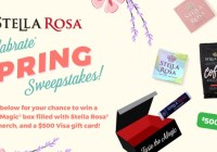 Stella Rosa Wines Stellabrate Spring Sweepstakes