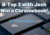 B Top 3 With Josh Chromebook Giveaway