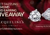 Jacqueline Fine Jewelry Diamond Stud Earrings Giveaway