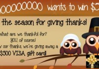 Express Medical Supply Season For Giving Thanks Giveaway