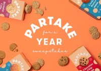 Partake Foods Partake For A Year Sweepstakes