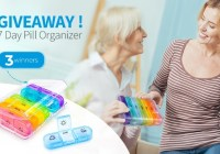 ZK Weekly Pill Organizer Giveaway
